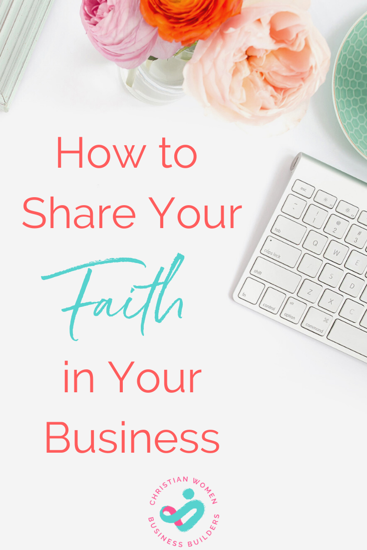 share your faith in your business