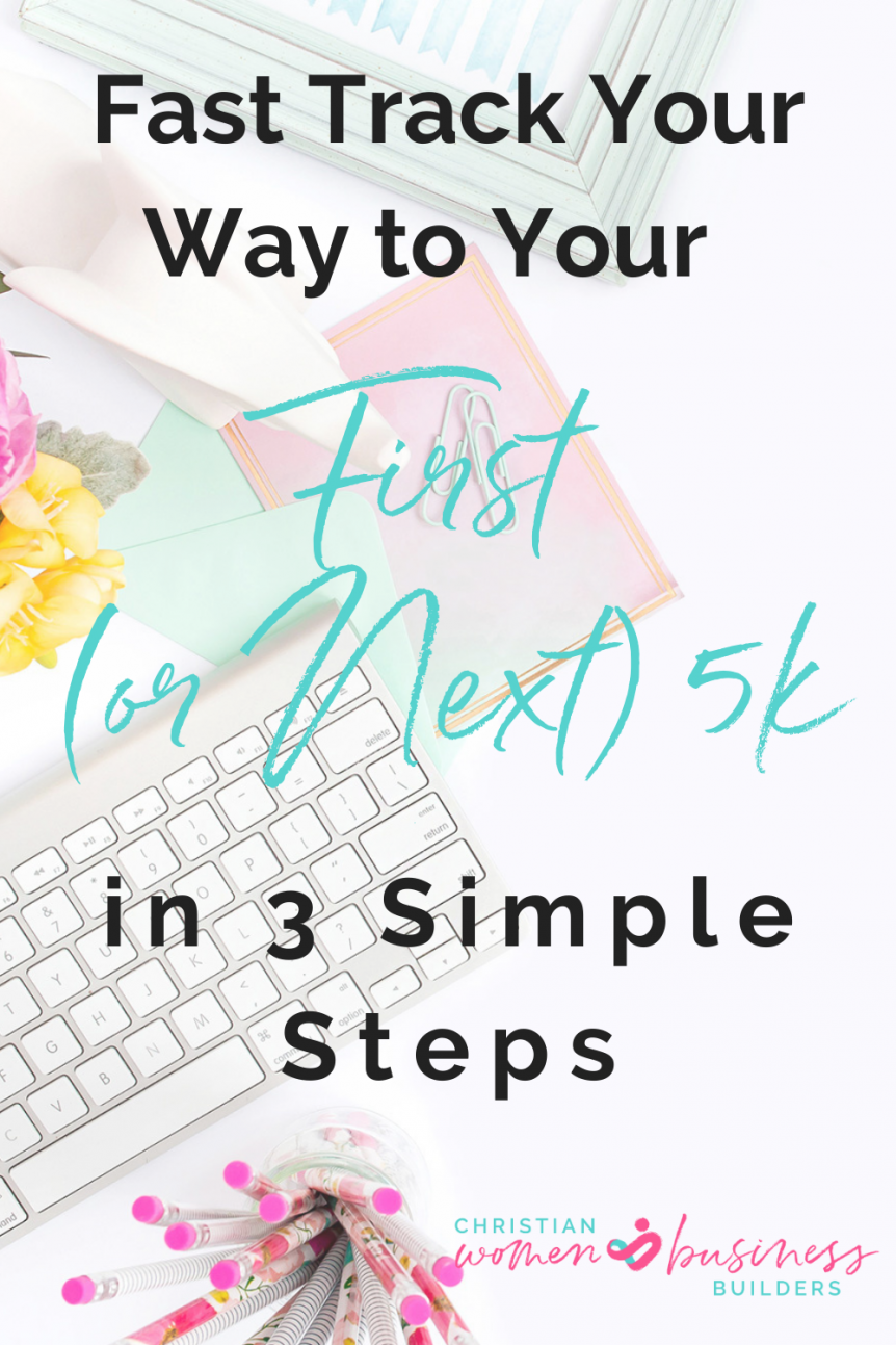 earn your first or next 5k in sales