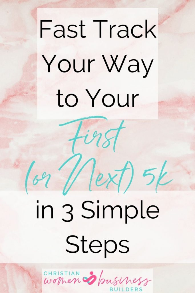 earn your first or next 5k